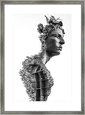 Framed Print featuring the photograph Primivera by Rand