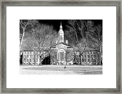 Princeton University New Jersey Framed Print