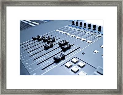 Professional Digital Sound And Framed Print by Grandriver