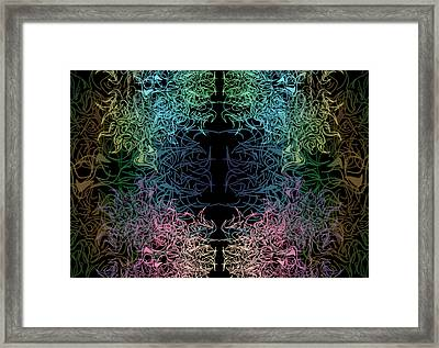 Projection Framed Print
