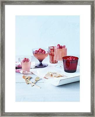 Prosecco Jellies Framed Print by Brett Stevens