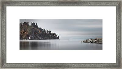 Brockton Point, Vancouver Bc Framed Print