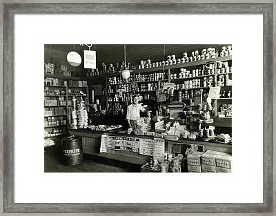 Proud Store Owner Framed Print