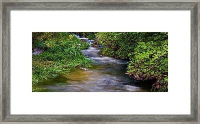 Framed Print featuring the photograph Provo Deer Creek by TL Mair