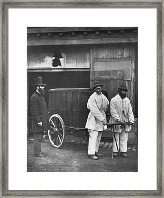 Public Disinfectors Framed Print by John Thomson