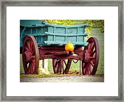 Pumpkin Trail Mix Framed Print