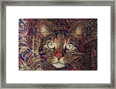Mystic In Paisley Framed Print
