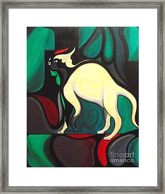 Pyewacket #3 Framed Print