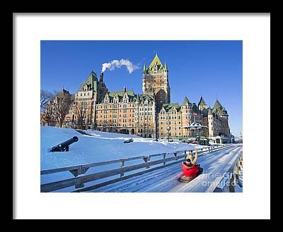 Quebec City Photographs Framed Prints