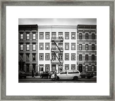 quick delivery BW Framed Print