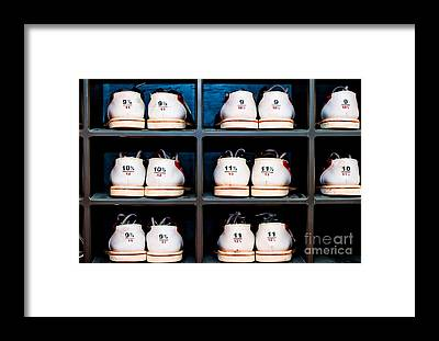 Ten Pin Bowling Framed Prints