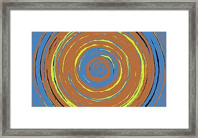 Radical Spiral 19021 Framed Print