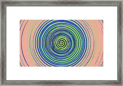 Radical Spiral 19022 Framed Print
