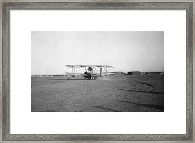 Raf Round-the-world Flight Framed Print by General Photographic Agency