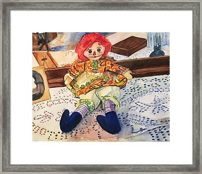Raggedy Annie Framed Print