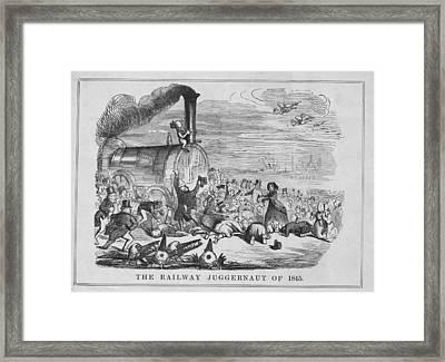 Railway Juggernaut Framed Print by Hulton Archive