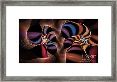 Rainbow Lillies-1 Framed Print