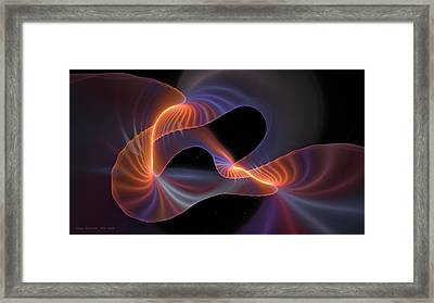 Rainbow Shimmer Framed Print