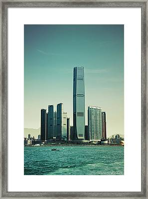 Ramparts Of Commerce Framed Print