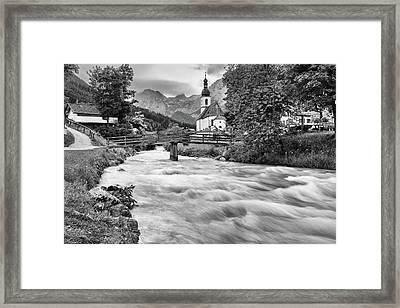 Ramsau, Bavaria Framed Print