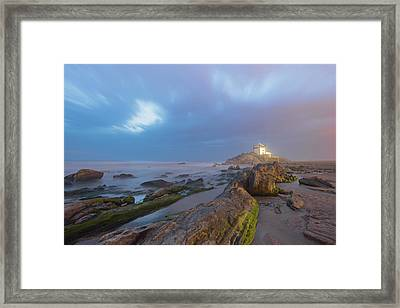 Framed Print featuring the photograph Ray Of Light by Bruno Rosa