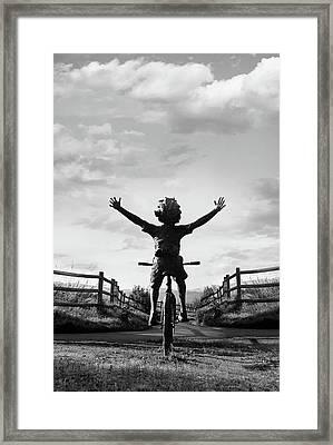 Reach High Framed Print by Dana Klein