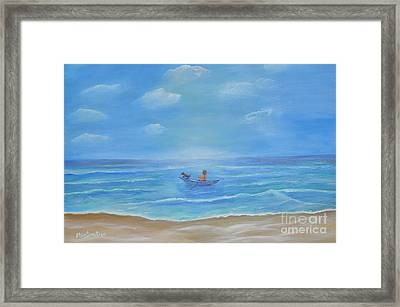 Ready Captain Framed Print by Sabine ShintaraRose