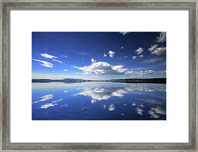 Real Illusions Reflections Framed Print by Philippe Sainte-laudy Photography