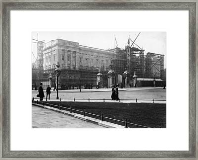 Reconstructing Palace Framed Print by Topical Press Agency