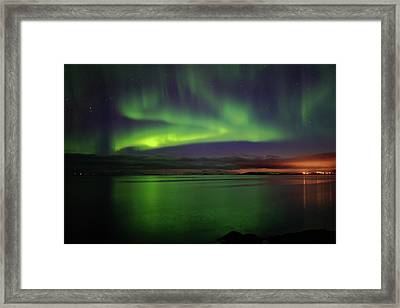 Reflected Aurora Framed Print
