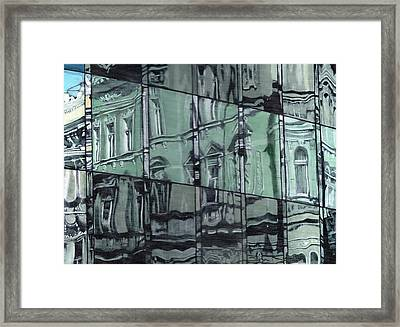 Reflection On Modern Architecture Framed Print