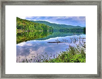 Framed Print featuring the photograph Reflections On Sis Lake by David Patterson