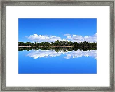 Reflective Lake Patricia Framed Print
