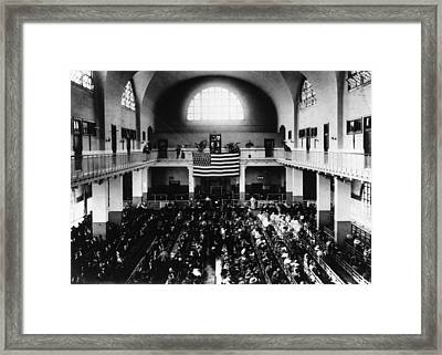 Registry Hall Framed Print by Hulton Archive