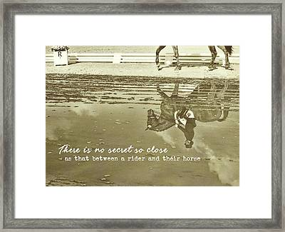 Relaxation Quote Framed Print by JAMART Photography
