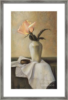 Remembered Rose Framed Print by Pat Thompson
