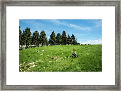 Remembering A Child In Peshastin Framed Print