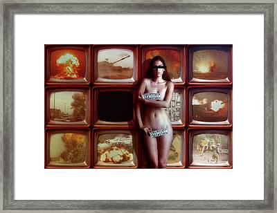 Retransmission Framed Print