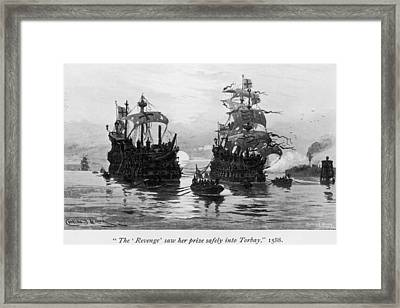 Revenge And Rosario Framed Print by Hulton Archive