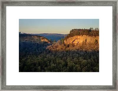 Revenuer's Rock Framed Print