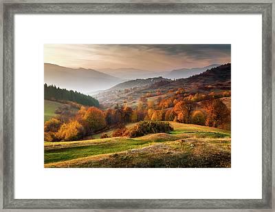 Rhodopean Landscape Framed Print by Evgeni Dinev Photography