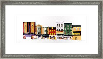Rialto Theater Framed Print