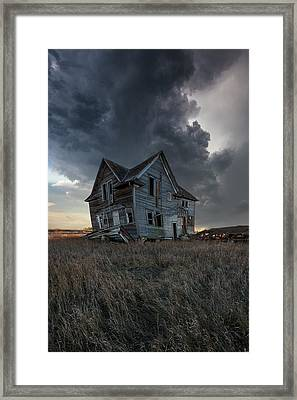 Framed Print featuring the photograph Right Where It Belongs by Aaron J Groen