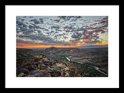 Rio Grande River Photographs Framed Prints