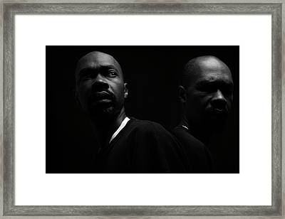 Framed Print featuring the photograph Rivals. by Eric Christopher Jackson