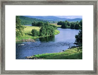 River Spey Near Grantown, Scottish Framed Print by Neil Holmes