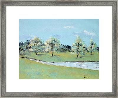 River Windrush Framed Print