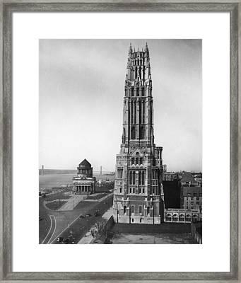 Riverside Church Framed Print by Fpg