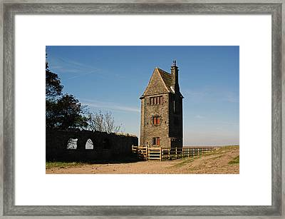 Rivington. The Pigeon Tower. Framed Print