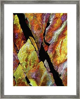 Rock Art 17 Framed Print